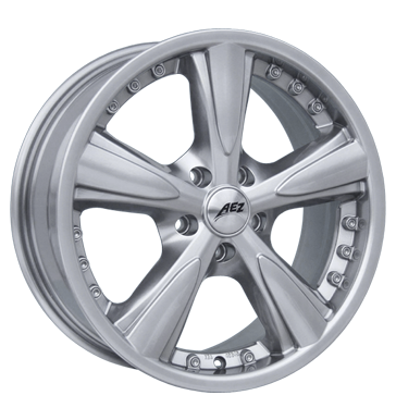 tyre - 7x17 5x100 ET35 AEZ Olymp 1 silber highgloss Exclusive Line Rims / Alu Jackets Accessories & literature wholesaler