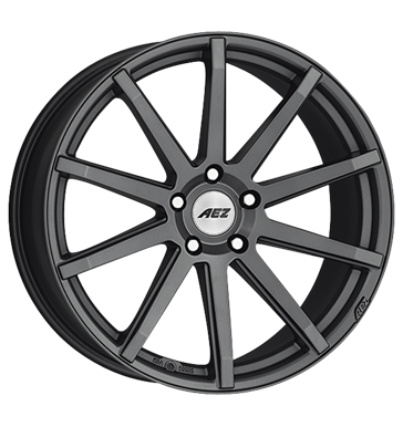 8.5x19 5x114.3 ET34 AEZ Straight Dark grau / anthrazit graphite matt Batteries Rims / Alu ALCOA tyre Daily car parts