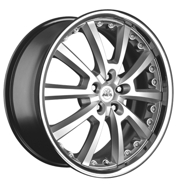 tyre - 9x20 5x114.3 ET35 Antera 363 silber bright silver Handcart Rims / Alu Specials One arm wiper tyre