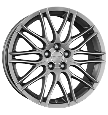 tyre - 7.5x17 5x108 ET40 Anzio Challenge silber sterling-silber MAGNETTO WHEELS Rims / Alu Azev Oldtimer wheels