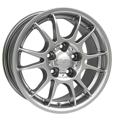 tyre - 7x17 5x112 ET38 Anzio Speed silber sterlingsilber Light Truck Full Year Rims / Alu RONDELL RC-Design car parts