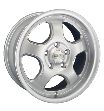 tyre - 9x16 5x110 ET30 Artec MA silber silber lackiert Sport exhausts Rims / Alu Engine coolants Valve cars wheels