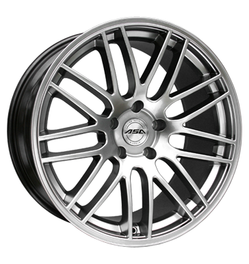tyre - 8x17 5x112 ET45 ASA GT 1 silber shiny silber Offroad Full Year Rims / Alu Test category 1 Oldtimer