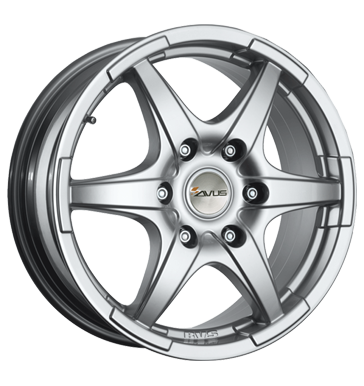 tyre - 6.5x16 5x114.3 ET35 Avus Grizzly silber hyper silver Rainwear Rims / Alu Vest Discover now! tools