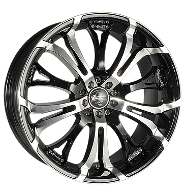 tyre - 10x22 5x114.3 ET30 Barracuda Tzunamee schwarz highgloss black polished Chip tuning + Motor tuning Rims / Alu Valve cars Opel car parts