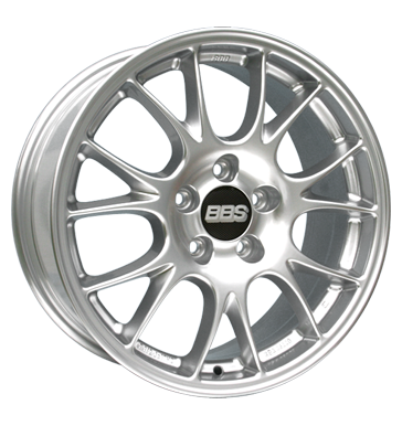 tyre - 7.5x17 5x114.3 ET45 BBS CO silber kugelpoliert Colours and varnishes Rims / Alu Car Hi-Fi rarities Winter complete wheels (steel)