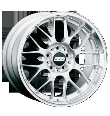 tyre - 8 5x18 5x120 ET22 BBS RS GT silber silber poliert