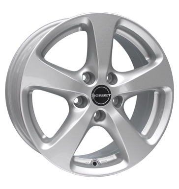 tyre - 8.5x19 5x112 ET40 Borbet CC silber crystal silver Electrical equipment Rims / Alu weekly Tyre repair wheels