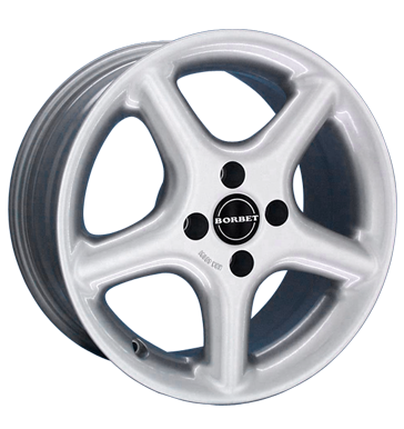 tyre - 7.5x16 4x114.3 ET40 Borbet CF silber kristallsilber Accessories & literature Rims / Alu Offroad Full Year accessories car