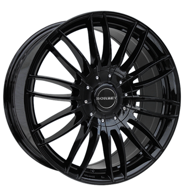 tyre - 8.5x19 5x114.3 ET40 Borbet CW3 schwarz black glossy Light truck summer from 17.5