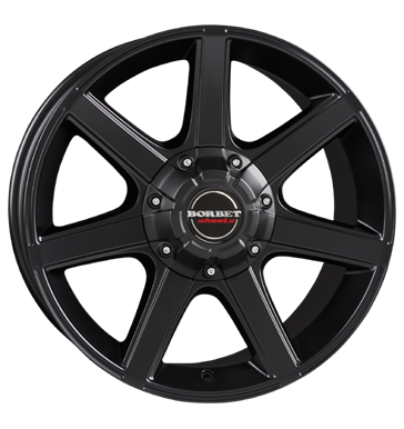 tyre - 8.5x18 5x114.3 ET35 Borbet CWE schwarz black matt Offroad summer Rims / Alu WHEELS Car Winter wheels
