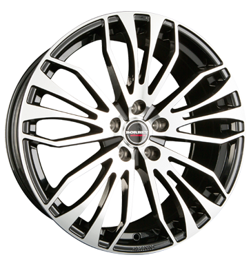 Rim 8.5x19 5x112 ET45 Borbet RB black polished