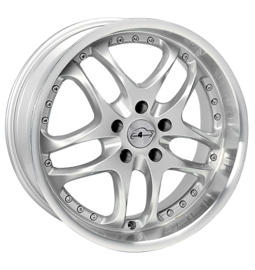 tyre - 8x18 5x120 ET35 Com4Wheels Mysteria silber highgloss MPT Rims / Alu Industrial Tires Windshield cleaning