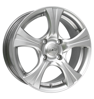 tyre - 7x16 4x98 ET35 Com4Wheels Styx silber highgloss silber Jerry cans and accessories Rims / Alu tMotive Sealing rings car