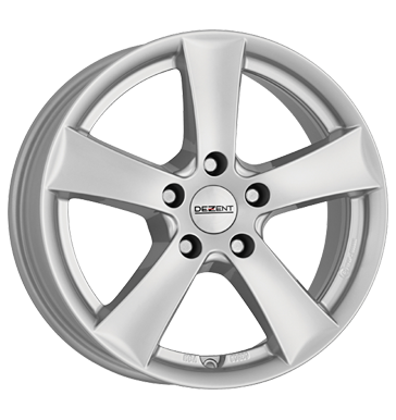 tyre - 6x15 5x112 ET40 Dezent TX silber silver Rim locks Rims / Alu RONDELL US car parts wheel