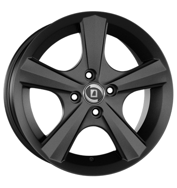 tyre - 6.5x15 4x98 ET35 Diewe Wheels Bellina schwarz Nero Caps and hats Rims / Alu allwheather Tire racks car parts