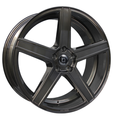 tyre - 9x20 5x120 ET30 Diewe Wheels Cavo grau / anthrazit grey Stickers + films Rims / Alu Storage boxes Specific vehicle parts wheel