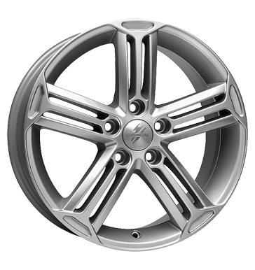 tyre - 7x16 5x120 ET55 Fondmetal MF silber silber Colours and varnishes Rims / Alu Jerry cans and accessories Lorinser
