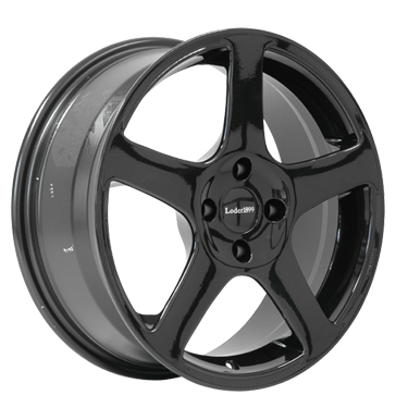 tyre - 7x17 4x108 ET35 Loder 1899 Basic II schwarz schwarz Agricultural tractors Rims / Alu Wheel bolts / nuts Suspension + damping utilities