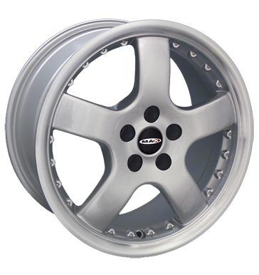 tyre - 7x15 5x114.3 ET35 MAK Energy silber silber lackiert Daily Rims / Alu Truck Summer Tinkers + defective radios wheel