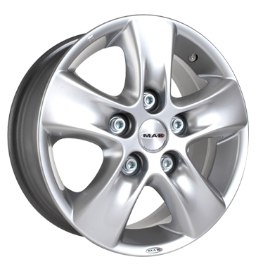 tyre - 6.5x16 5x108 ET35 MAK HD! silber hyper silver Storage boxes Rims / Alu Breyton Built-in navigation systems