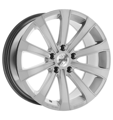 tyre - 7x17 5x112 ET46 Momo Europe silber hyper silver Special offers Rims / Alu summer Others wheel