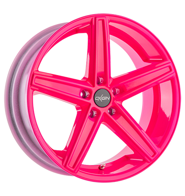 tyre - 9.5x19 5x120 ET40 Oxigin 18 Concave pink neon pink Complete systems Rims / Alu Clothing Tools Oil