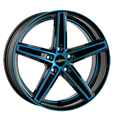 tyre - 10.5x21 5x120 ET20 Oxigin 18 Concave blau light blue polish tMotive Rims / Alu Jerry cans and accessories Rim beds (spare parts) wheels