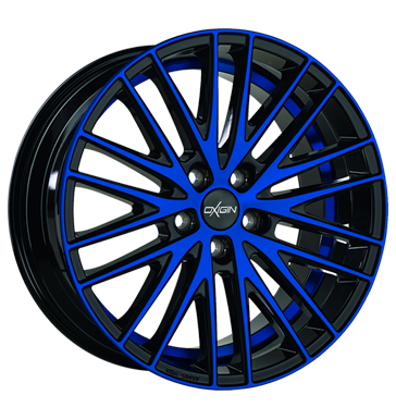 tyre - 10.5x20 5x120 ET40 Oxigin 19 Oxspoke blau blue polish Parts Rims / Alu Valve motorcycle Winter complete wheels (steel) tools