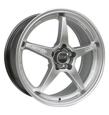 tyre - 8x17 5x114.3 ET37 OZ Crono silber silber lackiert Quad parts Rims / Alu Cable + connector Offroad summer tyre