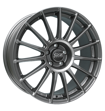tyre - 9.5x19 5x120 ET18 OZ Superturismo LM grau / anthrazit matt graphit mit silberner Schrift Peugeot Rims / Alu Air filter Steering and axle suspension steel rim