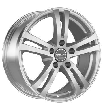 tyre - 7x17 5x112 ET47 Proline BX 700 silber arctic silver Rim locks Rims / Alu Scooter racing Tinkers + defective radios