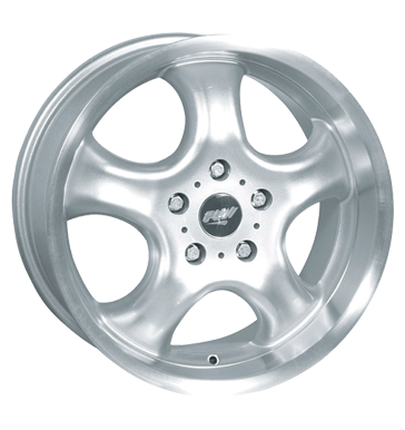 tyre - 8x17 5x112 ET45 Proline PCC silber silber poliert Storage boxes Rims / Alu Interior Hose: AS- Driving wheel hoses tools