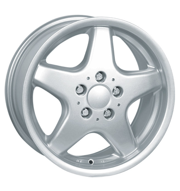 tyre - 7.5x16 5x112 ET35 Proline PQ alt silber sportsilber Steering and axle suspension Rims / Alu RFZ-Online allwheather