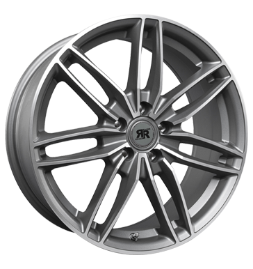 Rim 8x18 5x115 ET45 Racer Wheels Edition gun metal machined face