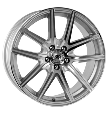 tyre - 7x16 5x100 ET35 Racer Wheels Hornet silber silver machined face Car care + Maintenance Rims / Alu Interior trims Valve extender / Holder tools