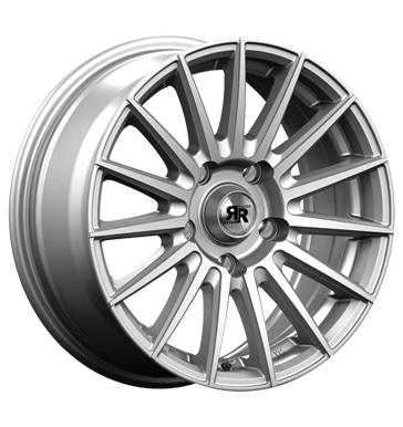 tyre - 7.5x17 5x120 ET35 Racer Wheels Monza silber silver Brake parts Rims / Alu Tyre Soundboards + adapter rings tyres