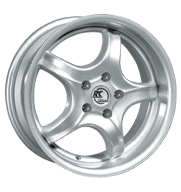 tyre - 9x16 5x100 ET30 RCDesign RC01 silber kristallsilber Motor sports Rims / Alu Sealing rings Axxion wheels