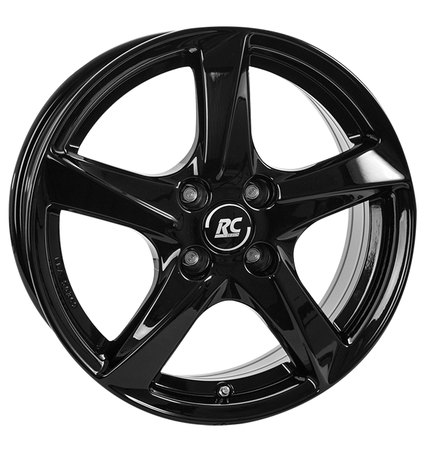 tyre - 6x16 4x100 ET43 RCDesign RC30 schwarz schwarz glanz Entry sills Rims / Alu Customizing & Performance Hardtops alu rim