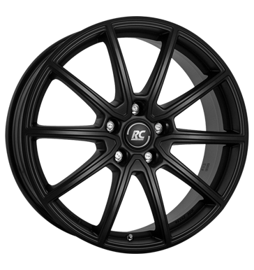 Rim 7.5x19 5x112 ET49 RCDesign RC32 satin black matt
