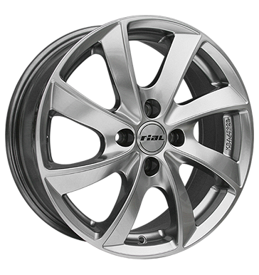 tyre - 6.5x16 4x108 ET25 Rial Lugano silber sterling-silber Kerscher Rims / Alu TOORA Inspection packages and kits tyre