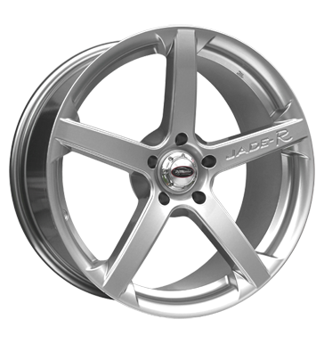 tyre - 8.5x18 5x120 ET45 Team Dynamics Jade R silber hyper power silver Safety shoes Rims / Alu Valve cars Motor sports utilities