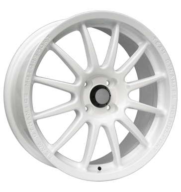 tyre - 7x17 4x108 ET15 Team Dynamics Pro Race 1.2 weiss racing white Colours and varnishes Rims / Alu Standard In-car accessories Breyton car