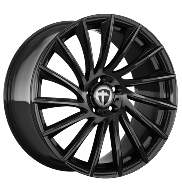 tyre - 8.5x19 5x114.3 ET40 Tomason TN16 schwarz black painted summer Rims / Alu Baro Jerry cans and accessories wholesaler