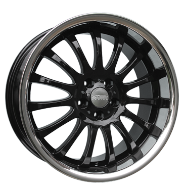 tyre - 9.5x19 5x112 ET30 Team Dynamics Equinox 2 schwarz gloss black + Edelstahlbett Specific vehicle parts Rims / Alu Daily MB-DESIGN utilities