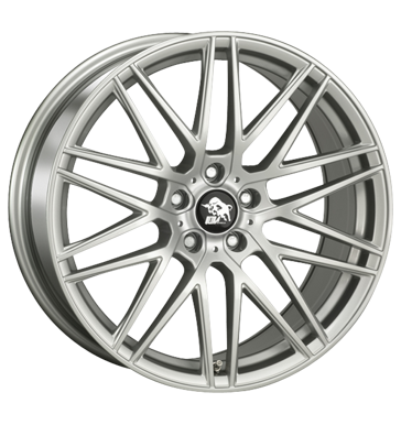 Rim 8x17 4x108 ET15 Ultra Wheels Race silver painted