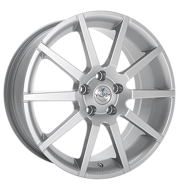 tyre - 7.5x17 4x100 ET35 Valbrem GMR silber silber Summer car Rims / Alu MAGNETTO WHEELS Scooter racing car parts